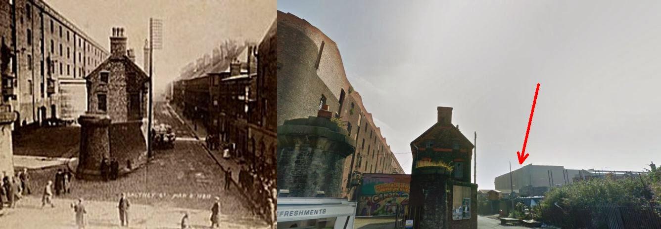 Kenwood: Saltney Street/Dublin Street, Liverpool: Bonded Tea Warehouse