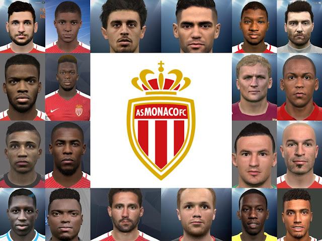 PES 2017 Monaco Mega Facepack Repack By Ali.Mnf