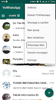 Kirim Pesan Whatsapp di Komputer Laptop