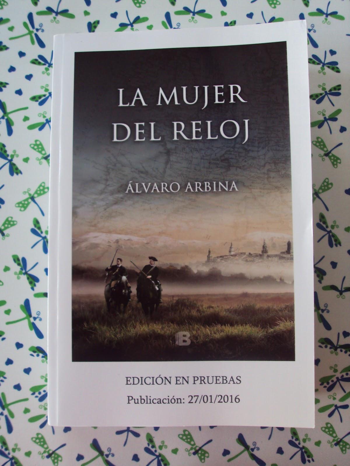 10d56c96d6d2 La mujer del reloj - Álvaro Arbina