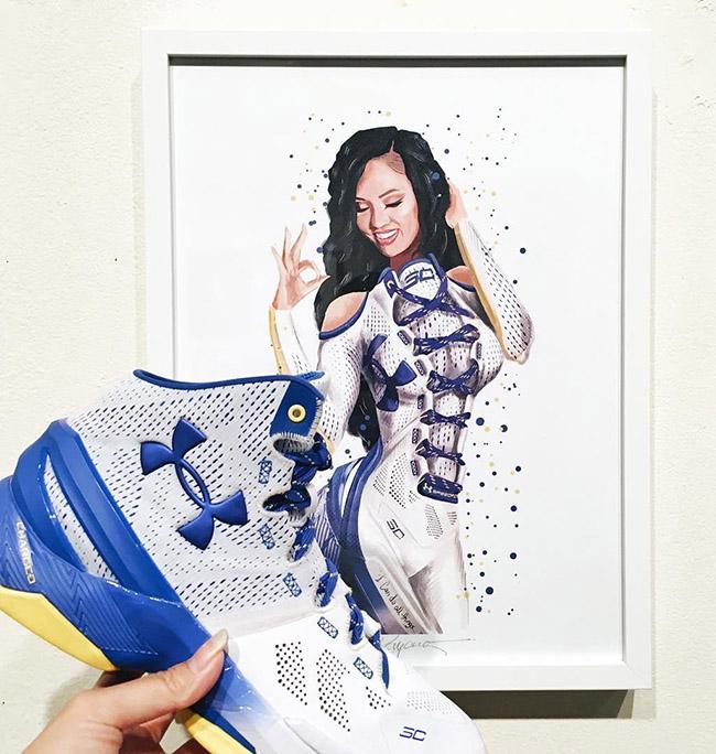Reina Koyano - #YellowMenace Basketball Art Collection