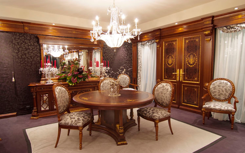 Phòng khách cổ điển biểu tượng của sự sang trọng và đẳng cấp 5