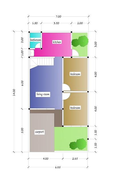 1st floor plan of beautiful house plan 20