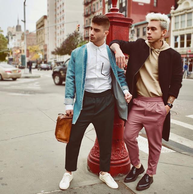 Viaje de Two Unknown Boys a New York