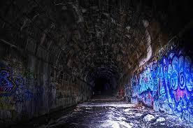 The Blue Ghost Tunnel.