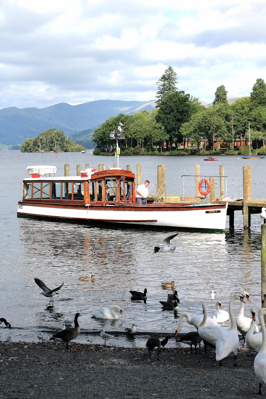 Travel blogger Bowness Lake District photography boats