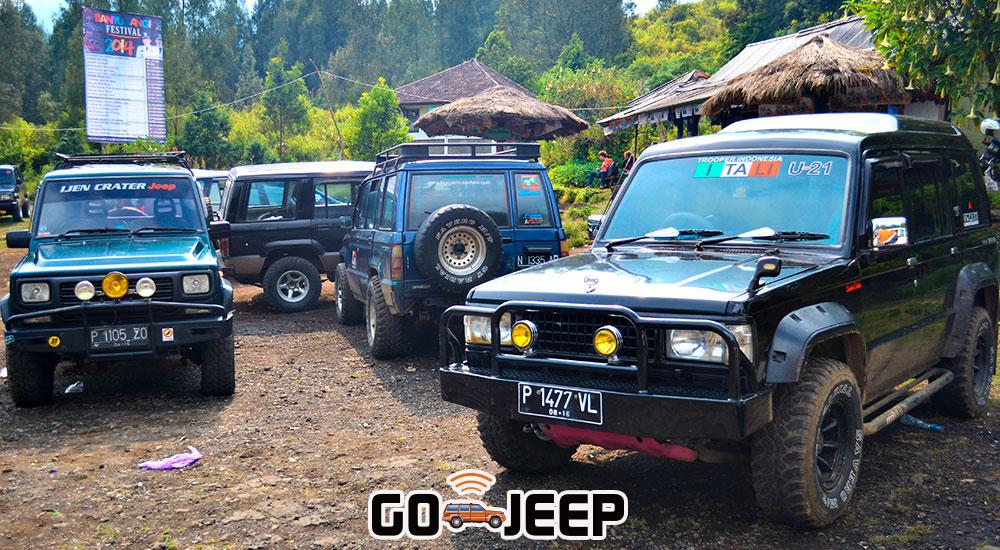 paket wisata jeep kawah ijen crater