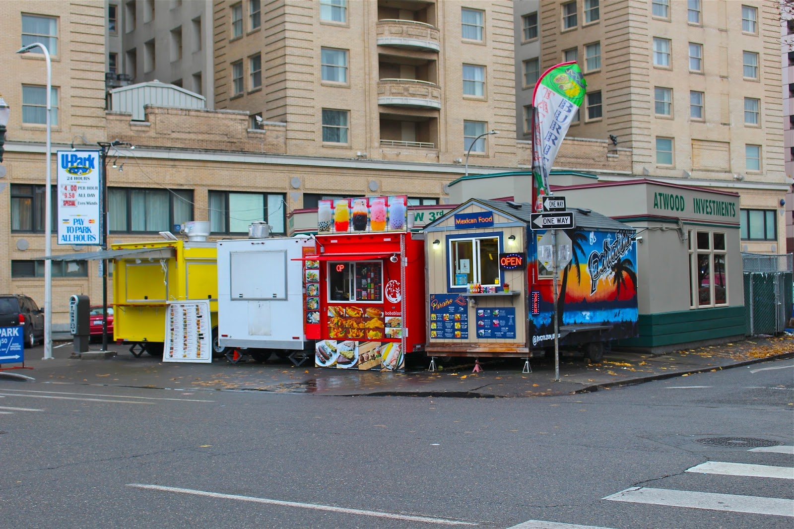 Late Night Food Trucks Portland
