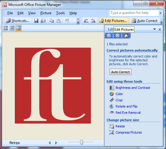 Cara Mengedit Foto Menggunakan Microsoft Office Picture Manager