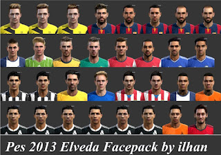 Faces Pro Evolution Soccer 2013 By De Todo Para Tu PES