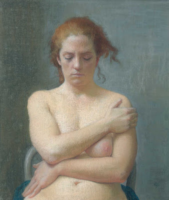 Nude with Eyes Lowered, Ellen Eagle