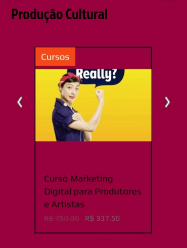 Curso Marketing Digital para Produtores e Artistas