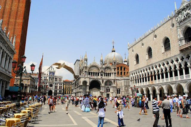 Площадь Сан Марко.Венеция
