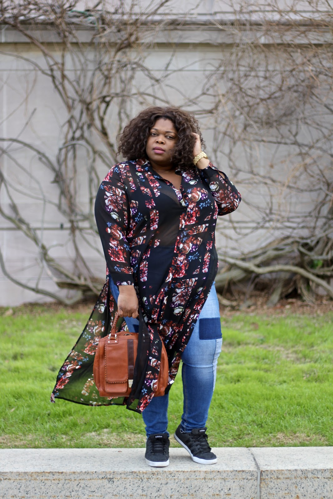 dc plus size blogger