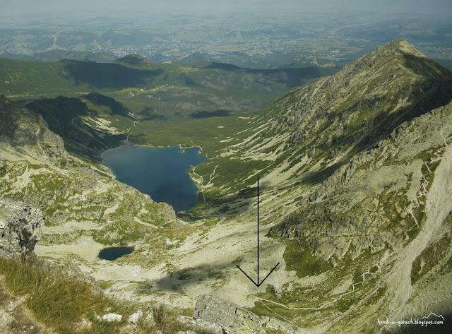 Widok na Kozią Dolinkę z Koziego Wierchu