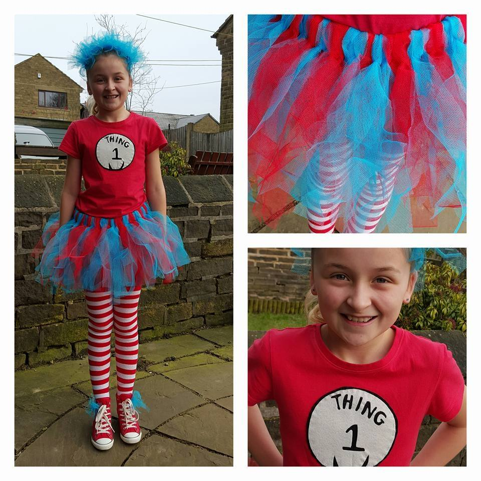 Thing 1. As you can see by the big cheesy grin on my daughters face she LOVES her homemade costumes Iu0027ve made my child happy and spent quality time making ...  sc 1 st  A Blogs Life... & A Blogs Life...: March 2017