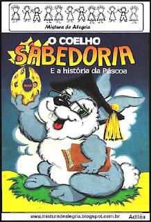 Livro o coelhinho sabedoria páscoa