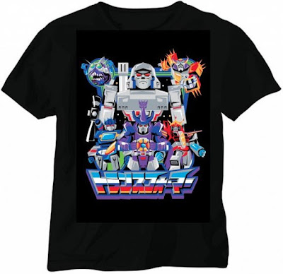 San Diego Comic-Con 2016 Exclusive Transformers The Animated Movie 30th Anniversary T-Shirts by Hyperactive Monkey & Nice Kicks - Autobots & Decepticons