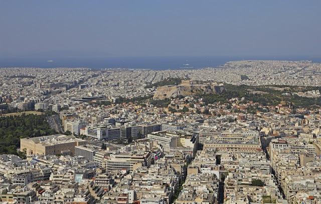 Fuso horário mês a mês em Atenas