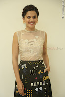 Taapsee Pannu in transparent top at Anando hma theatrical trailer launch ~  Exclusive 106.JPG