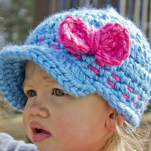 Super Cute Baby Cap - Free Pattern