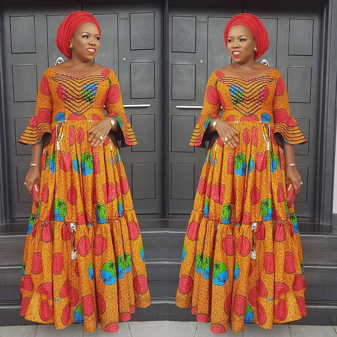 Latest Ankara Fashion Style 2018 Gowns Dresses And Tops