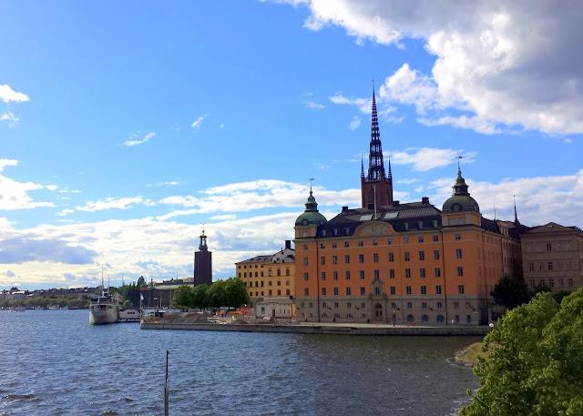 Stadshuset Kungsholmen Riddarholmen, Stockholm, Sweden  |  The day I became an Italian citizen on afeathery*nest  |  http://afeatherynest.com