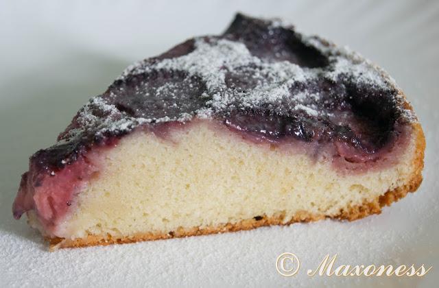 Быстрый клубничный пирог
