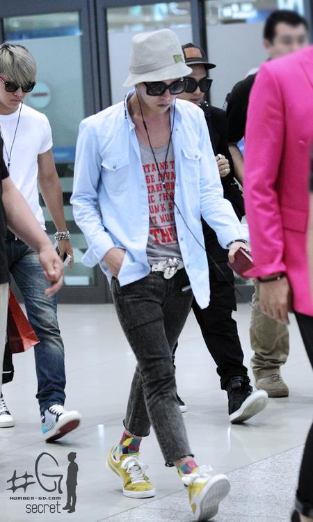 Oddness/Weirdness: Idol Style: G-Dragon's Off-Duty Fashion