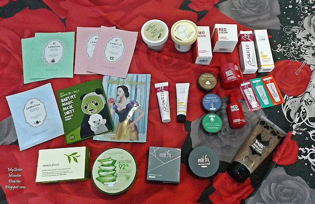 Korean SkinCare Haul 2017