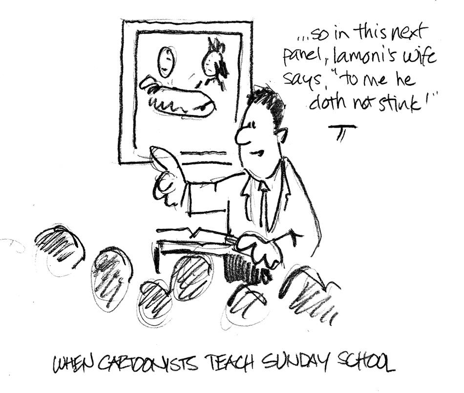 Beckstrom Buzz: Monday Sketchbook: Teaching techniques