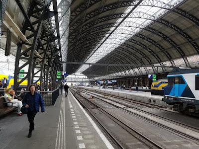 Tren del aeropuerto de Ámsterdam al centro