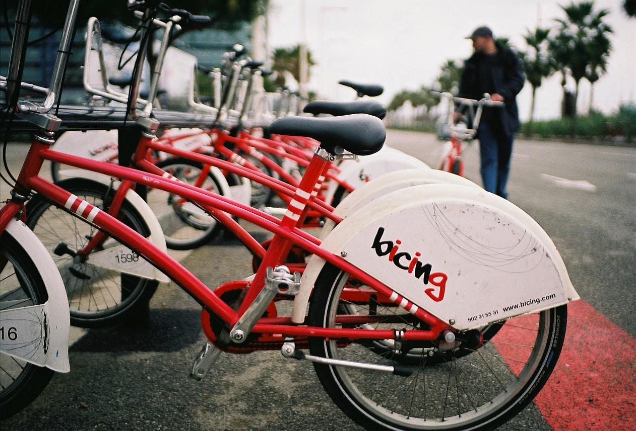 Le vélo à Barcelone