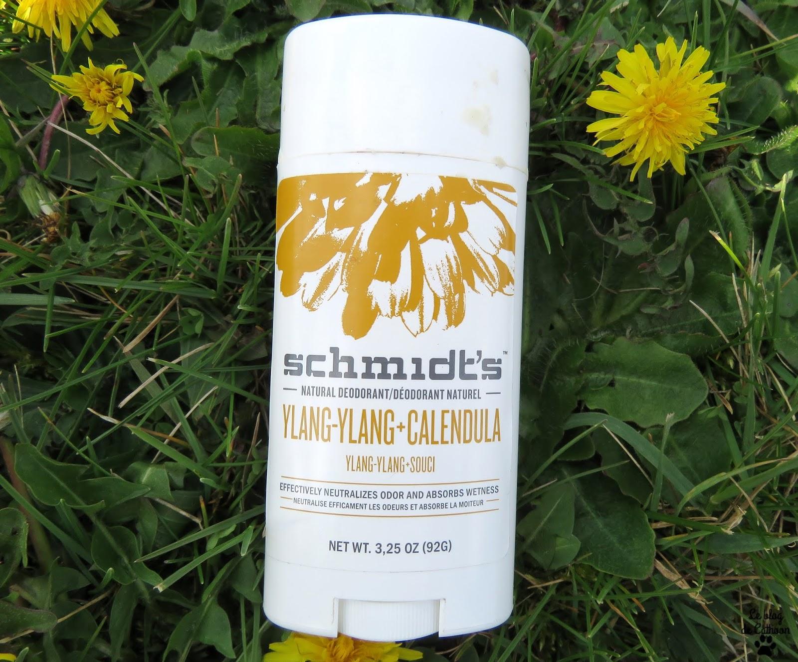 Ylang-Ylang + Calendula Déodorant Schmidt's