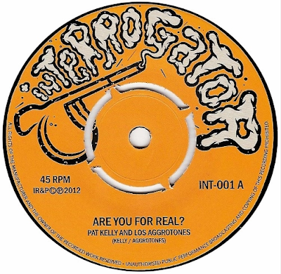 LOS AGGROTONES - Are you for real? (Feat. Pat Kelly) / Atlantico (2012)