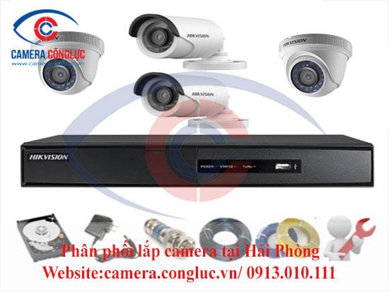 Trọn bộ camera Hikvision tại Hải Phòng