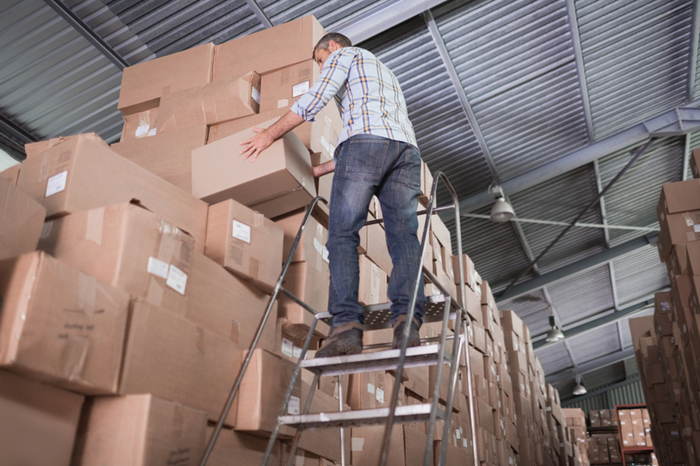 Importance of Safety Ladders in Industrial Warehouses