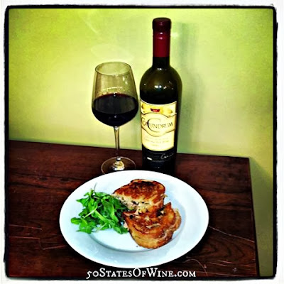 Turkey Leftover Wine Pairings: Turkey Panini with Conundrum Wines Red