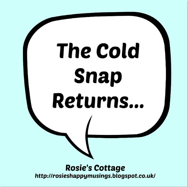 The Cold Snap Returns