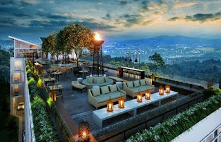 acara tahun baru 2017 hotel amarta hills resort