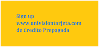 Univision Prepaid Card Sign Up