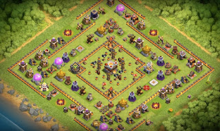 Town Hall 11 Farming Base