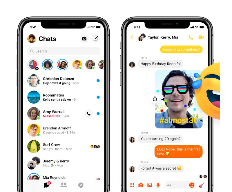 Confirmed! Facebook's simplified Messenger app interface is finally rolling out to all users in several markets