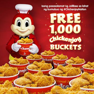 Jollibee, Chickenjoy Bucket, Promo