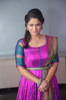 Shilpa Chakravarthy in Purple tight Ethnic Dress ~  Exclusive Celebrities Galleries 042.JPG
