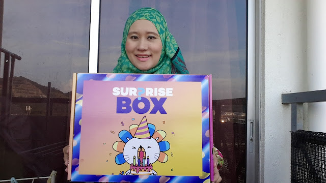 PERSIAPAN BARANGAN BABY DARI LAZADA SURPRISE BOX 5TH BIRTHDAY