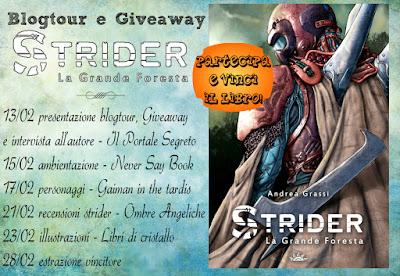 Blogtour Strider: l'ambientazione