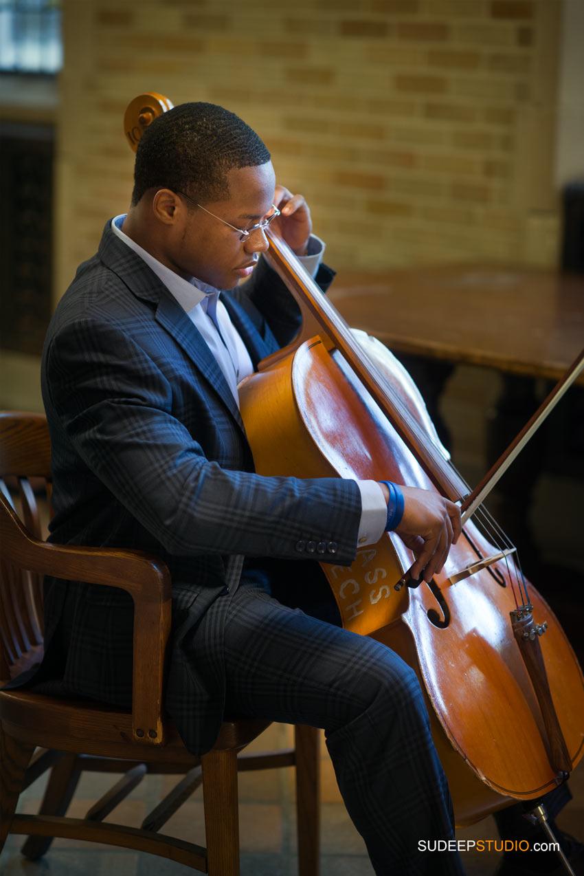 Music Theme Cello Senior Pictures Pioneer High Ann Arbor Senior Pictures for Guys SudeepStudio.com Ann Arbor Senior Portrait Photographer