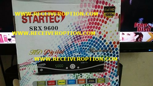 STARTEC SRX 9600 HD RECEIVER POWERVU KEY OPTION