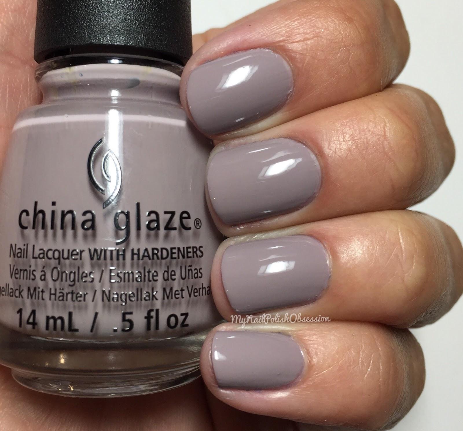 Greige Nail Polish: My Nail Polish Obsession: China Glaze Rebel Collection
